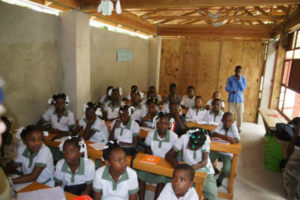 High quality education provided by a CODEP school built by Building Goodness Foundation